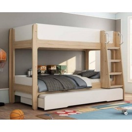 Abbey Bunk Bed and Trundle Triple Sleeper